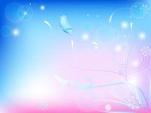 Frühlingskarte Lizenzfreies Stockfoto