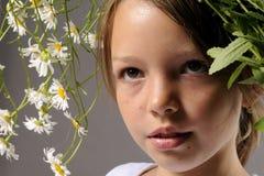 Frühlingsmädchen lizenzfreie stockfotografie
