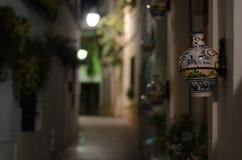 Frühlingsnacht Cordoba stockbilder
