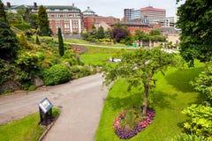Frühlingspark in Nottingham stockbilder