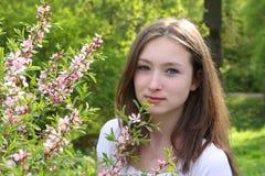 Frühlingsportrait Stockbilder