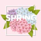 Frühlingsverkaufshintergrund Lizenzfreies Stockbild