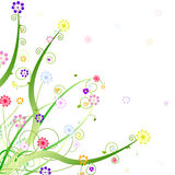 Frühlingsverzierungauslegung Lizenzfreies Stockbild