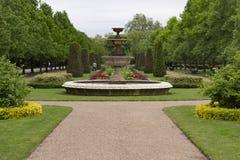 Frühlingsweg in Regent's Park lizenzfreies stockbild