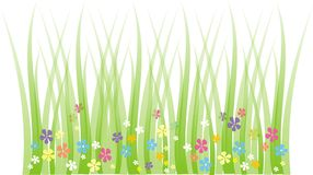 Frühlingswiese Lizenzfreie Stockfotos