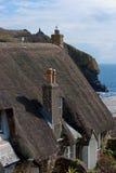Cadgwith Bucht-Dorf Cornwall Stockfotografie