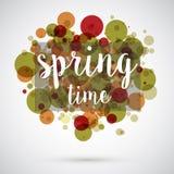 Frühlingszeithintergrund Lizenzfreies Stockbild