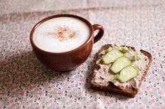 Frühstück. Lizenzfreies Stockfoto