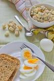 Frühstück auf dem Tisch Lizenzfreies Stockfoto
