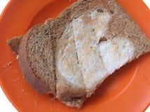 Frühstück - Brot Stockfotografie