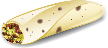 Frühstück Burrito Stockbilder