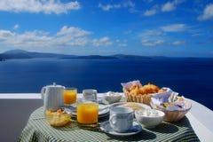Frühstück in den Himmeln Lizenzfreie Stockbilder