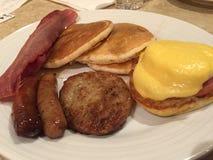 Frühstück in den USA Lizenzfreie Stockfotografie