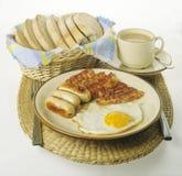 Frühstück des Landwirts Stockfotos