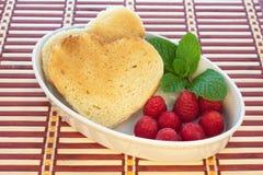 Frühstück für Geliebte. Lizenzfreie Stockfotografie