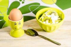 Frühstück für Kind Lizenzfreies Stockbild