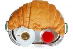 Frühstück für Meister Stockfotografie