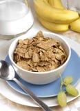 Frühstück-Kleie-Flocken Lizenzfreie Stockfotos
