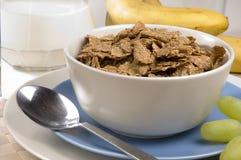 Frühstück-Kleie-Flocken Stockfotografie