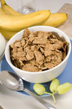 Frühstück-Kleie-Flocken Stockbild