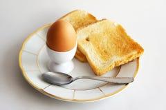 Frühstück mit Ei Lizenzfreies Stockbild