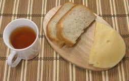 Frühstück mit Käse Stockbilder