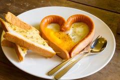 Frühstück mit Liebe - 1 Stockbilder