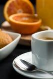 Frühstück - nahes hohes Stockfotografie