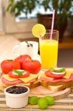 Frühstück-Set Lizenzfreie Stockbilder