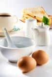 Frühstück-Set Stockfotografie