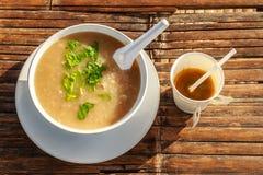 Frühstück und Kaffee morgens an chaingmai Nord-thaila Lizenzfreie Stockfotos