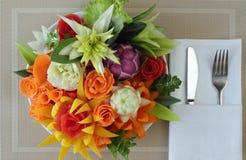 Frühstück vom Gemüse Lizenzfreie Stockfotos