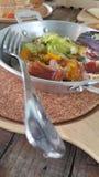 Frühstück von Spiegeleiern lizenzfreies stockfoto