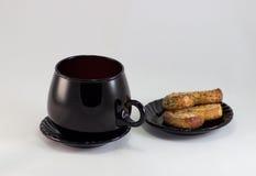 Frühstück vor einem schönen Tag Lizenzfreie Stockfotos