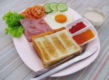 Frühstück wichtig Stockfotografie