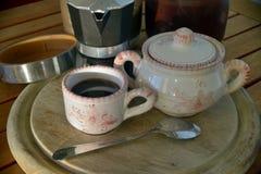 Frühstück zu Hause lizenzfreies stockfoto