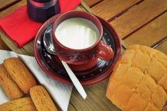 Frühstück zu Hause Stockfotografie