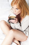 Frühstückkaffee Stockfotos