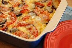 Frühstückkasserolle Stockbild