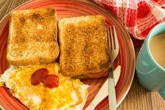 Frühstücks-Beispiel Stockfotografie
