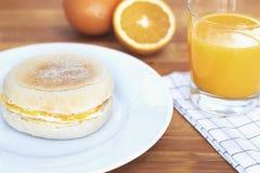 Frühstücks-Muffin Lizenzfreie Stockbilder