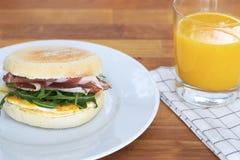 Frühstücks-Muffin Lizenzfreies Stockfoto