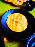 Frühstücks-Pfannkuchen Stockfotografie