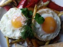 Frühstücks-Platte Lizenzfreie Stockbilder