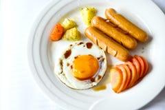 Frühstückseier lizenzfreies stockbild