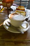 Frühstückskaffee Stockfotos