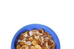 Frühstückskost aus Getreide stockbild