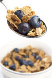 Frühstückskost aus Getreide Stockfoto