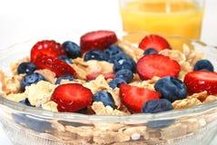 Frühstückskost aus Getreide Lizenzfreie Stockfotografie
