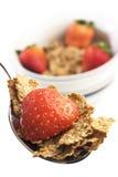Frühstückskost aus Getreide mit blueberr Stockfoto